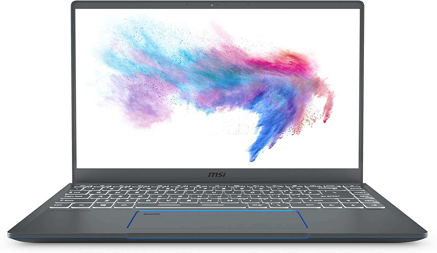 "MSI Prestige 14 A10SC-020 14"" Ultra Thin and Light Professional Laptop Intel Core i5-10210U GTX1650 MAX-Q 16GB DDR4 512GB NVMe SSD Win10Pro"