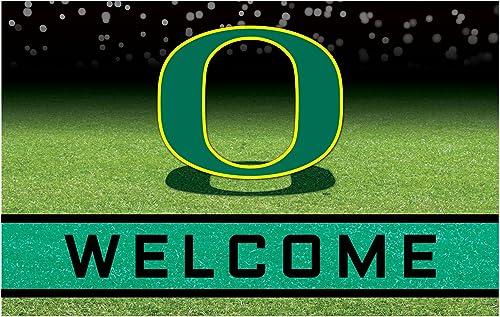 NCAA University of Oregon Ducks Heavy Duty Crumb Rubber Door Mat