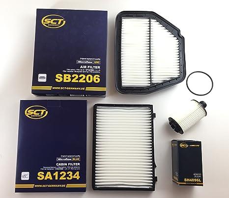 SCT Alemania de aceite Filtro de aire interior filtro ...