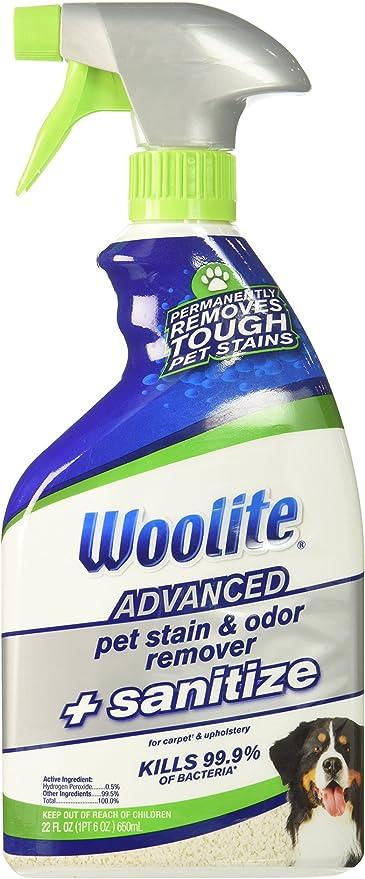 Amazon.com: Woolite Advanced Pet quitamanchas y olores + ...