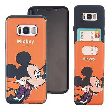 426d516180 Galaxy Note8 ケース Disney Mickey Mouse ディズニー ミッキーマウス カード スロット ダブル バンパー ケース /スマホケース