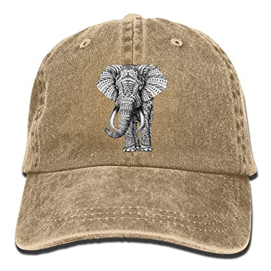 4de5a3de0267a cyg5fw197r Indian Elephant Vintage Adjustable Cowboy Hat Baseball ...