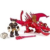 Dragons – Dragon et son Dresseur – Rustik & Krochefer – 2 Figurines