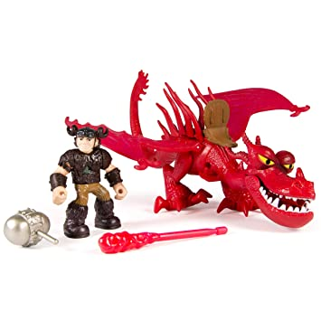How to train your dragon snotlout and hookfang amazon toys how to train your dragon snotlout and hookfang ccuart Choice Image