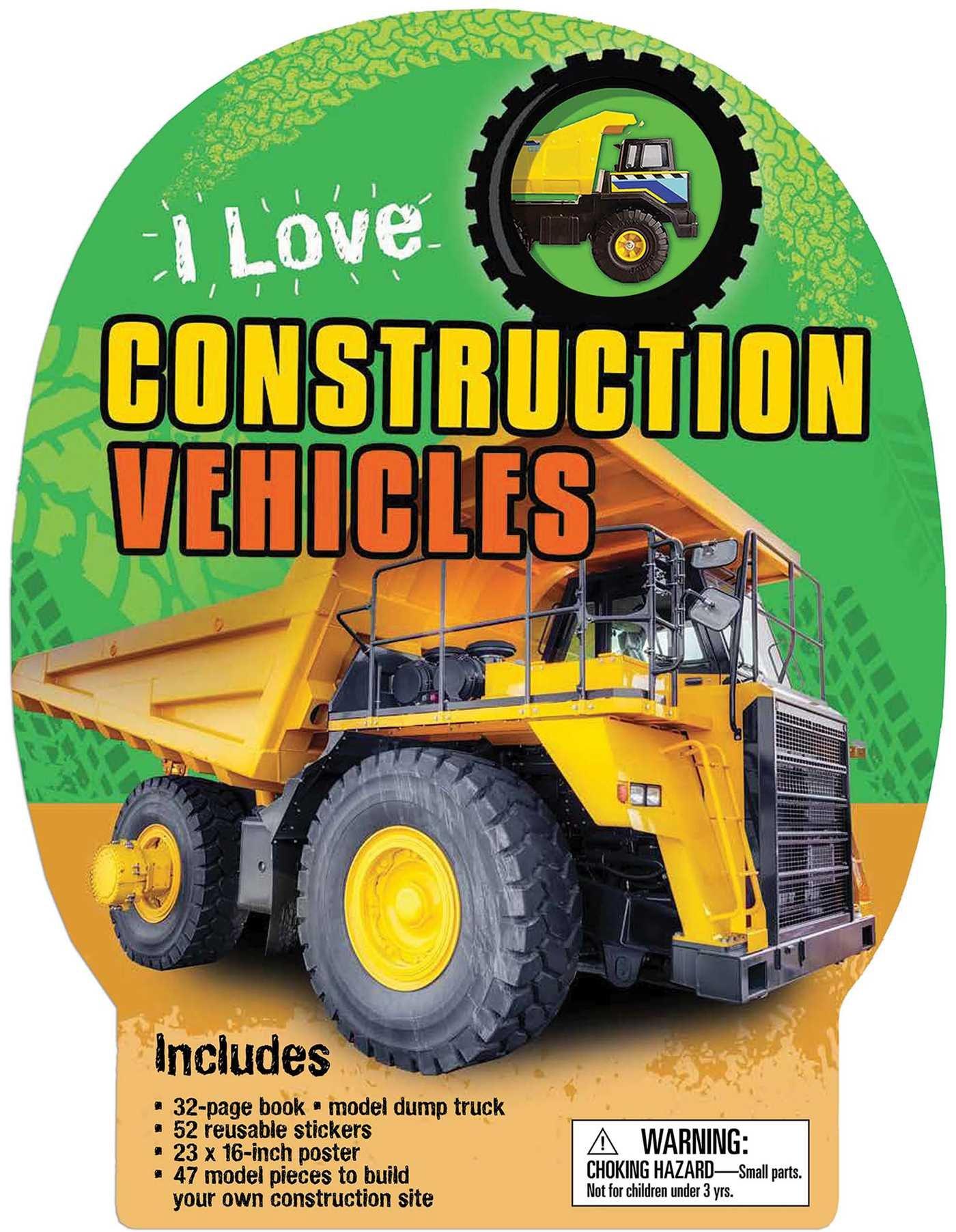 I Love Construction Vehicles PDF