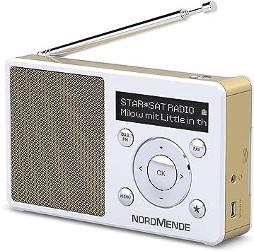 Nordmende Transita Digital Radio Mono White Home Cinema Tv Video