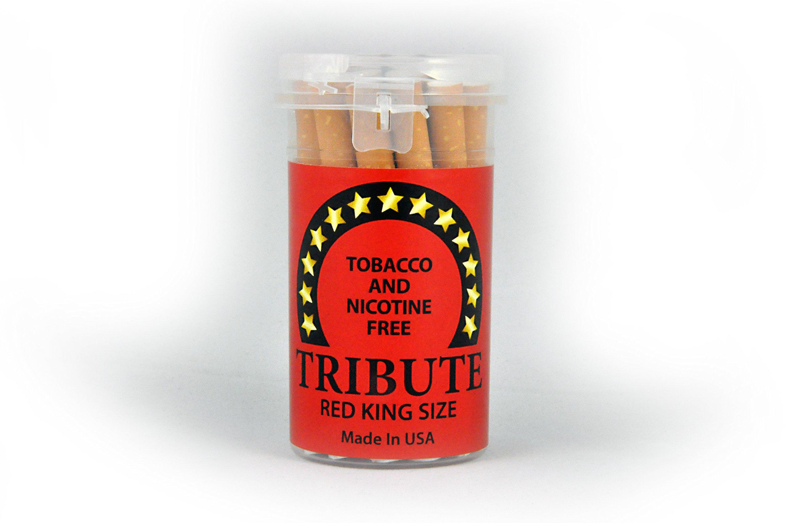 "Tribute ""Red"" - Tobacco Free - Nicotine Free - Herbal - Cigarette Alternative"