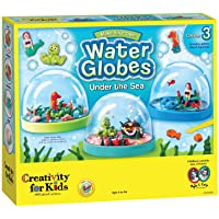 Faber-Castell CK1858 Creativity for Kids Make Your Own Water Globes Under The Sea