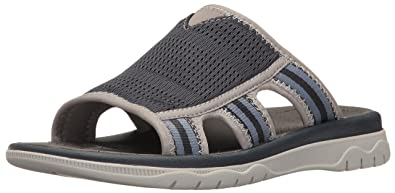 CLARKS Men's Balta Ray Sandal, Navy, 8 M US