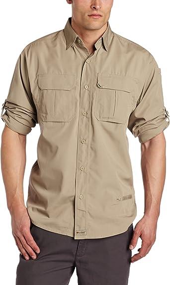 Blackhawk. para Hombre Ligero Tactical – Camisa de Manga Larga para Hombre, Hombre, 88TS01, Caqui, Large: Amazon.es: Ropa y accesorios