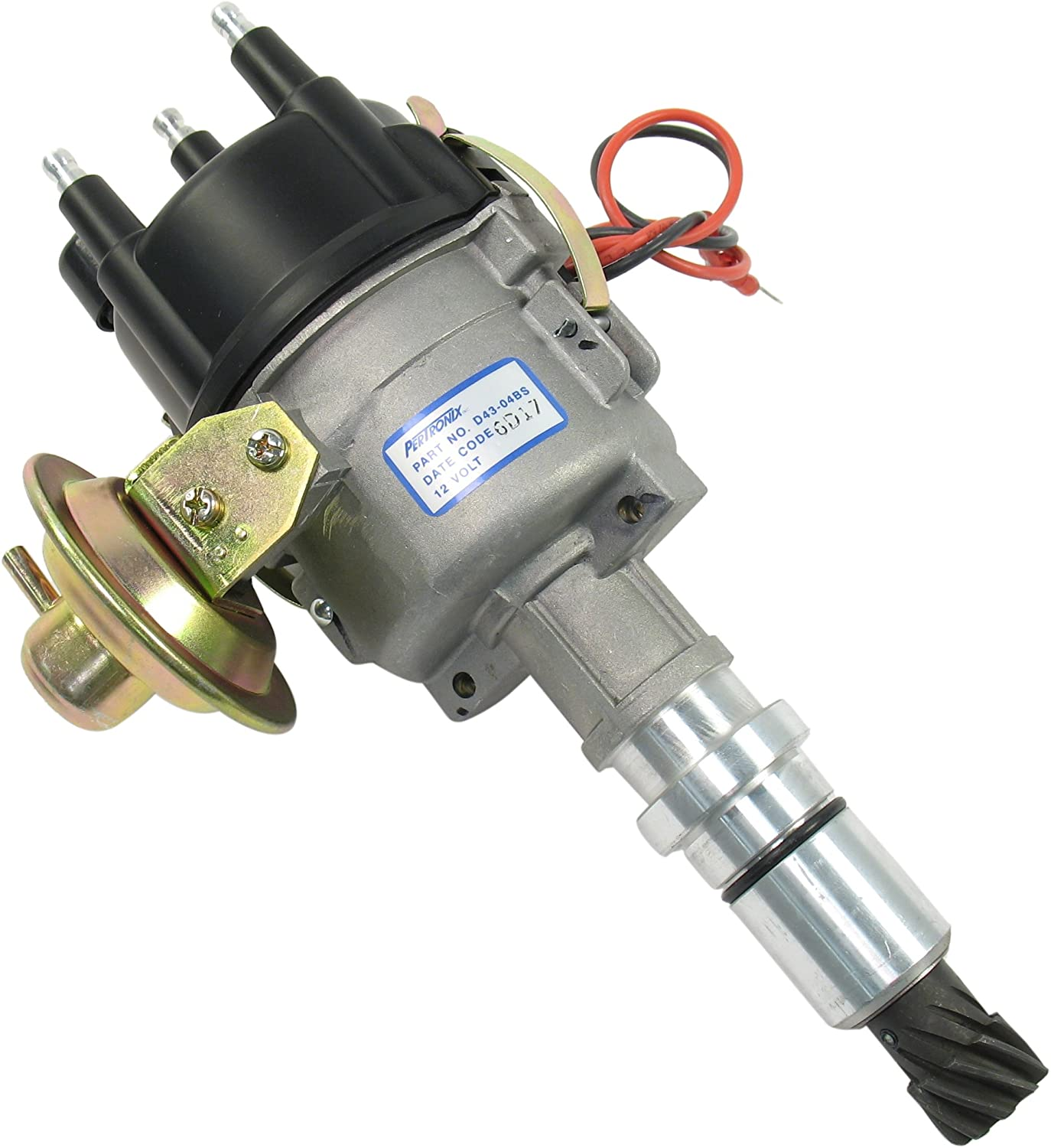 Pertronix D21-11A Distributor Industrial for Wisconsin 2 Cylinder Odd Fire
