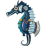 Allen Designs Salty Seahorse Pendulum Clock