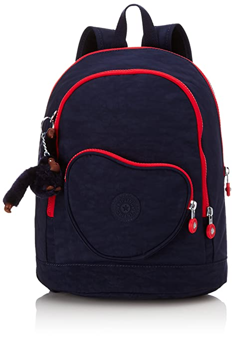 54493a59d8 Kipling - HEART BACKPACK - Kids Backpack - Navy Blue C - (Blue)   Amazon.co.uk  Luggage