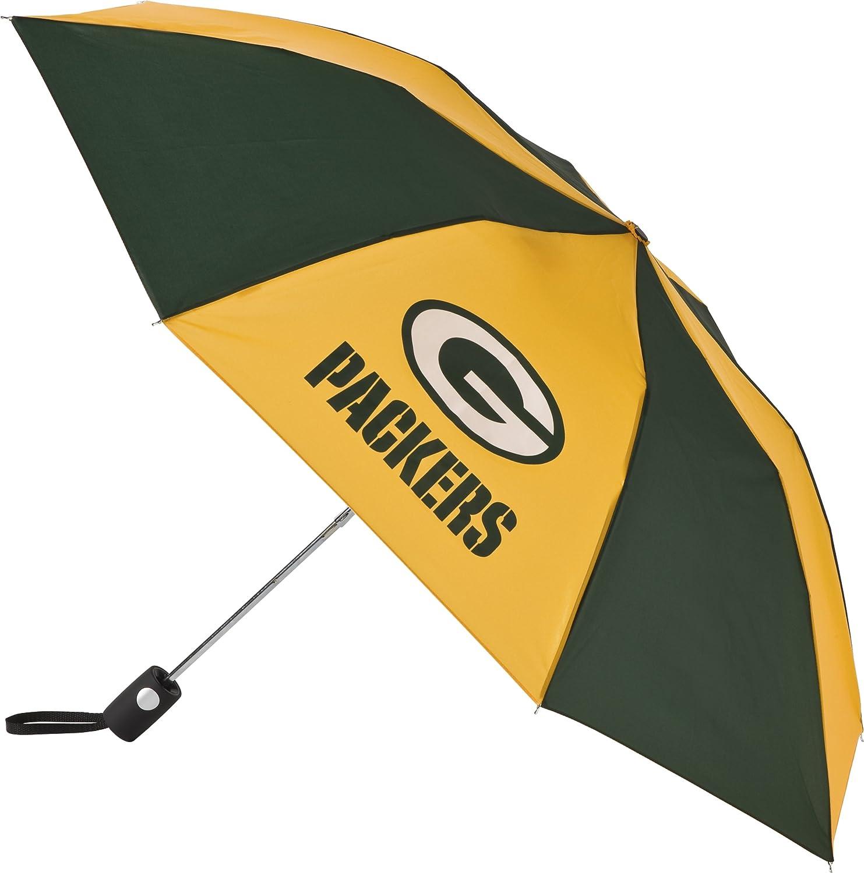 NFL Green Bay Packers Auto Folding Umbrella : Golf Umbrellas : Sports & Outdoors