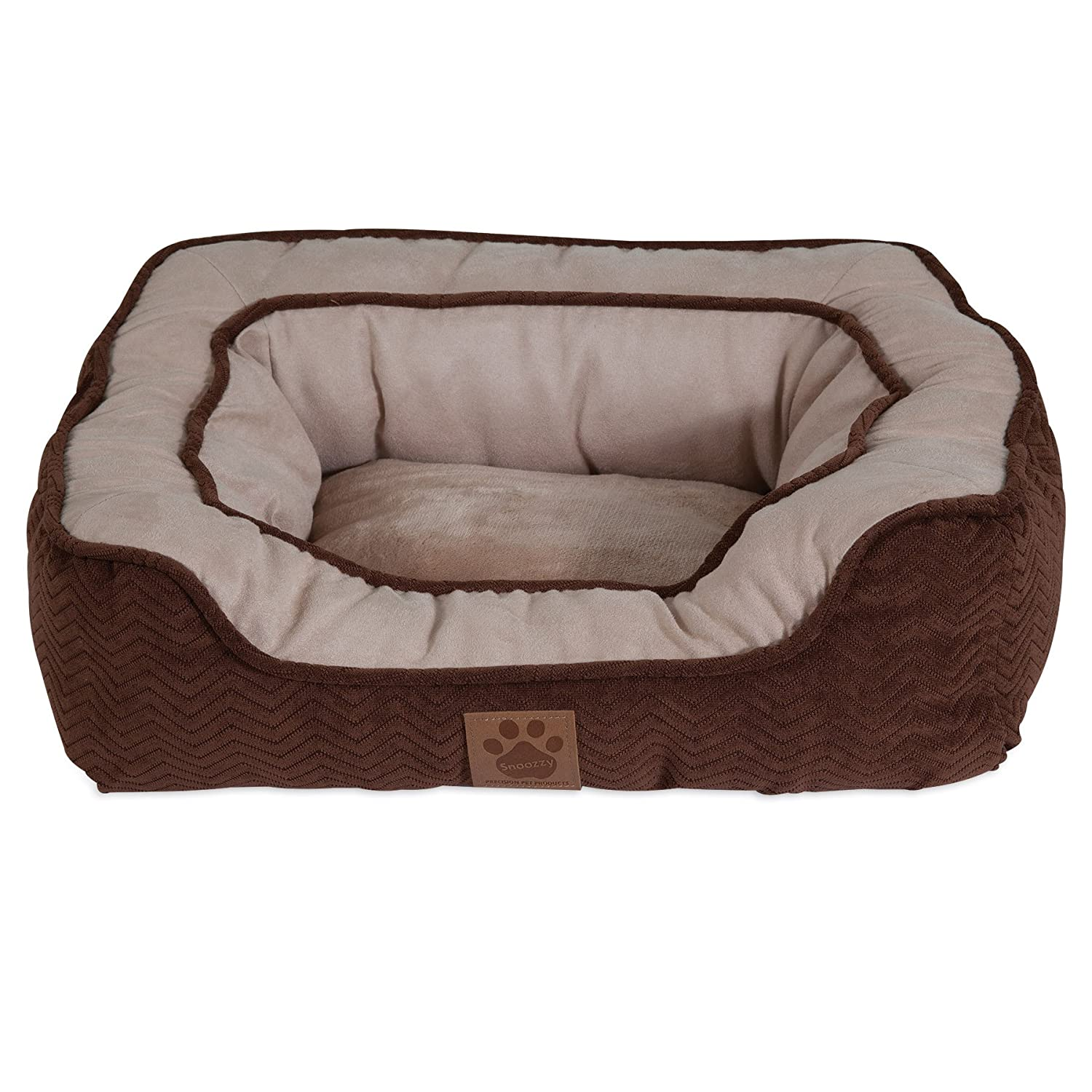 Chocolate 19 X 17Precision Pet Modern Daydreamer Dog Bed