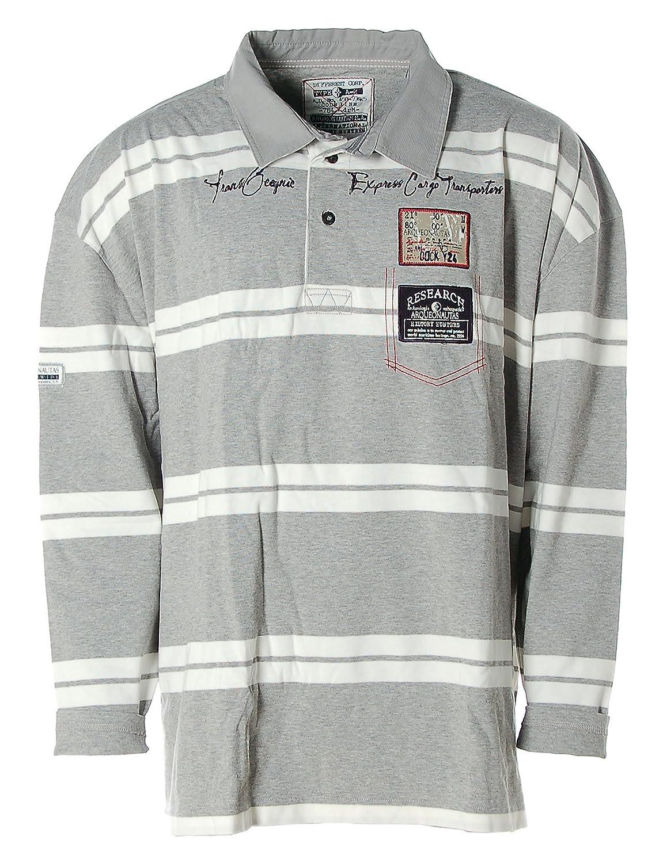 ARQUEONAUTAS ARQUEONAUTAS ARQUEONAUTAS Herren Poloshirt Polo Shirt Langarm Streifen -Express Cargo Transporter- edc25f