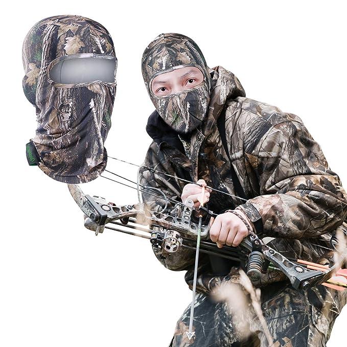 Pasamontañas máscara de caza diseño de camuflaje camuflaje ...