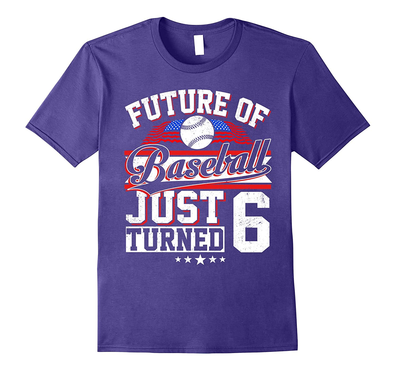 Future Baseball Born In 2011 T-Shirt 6th Birthday-Art