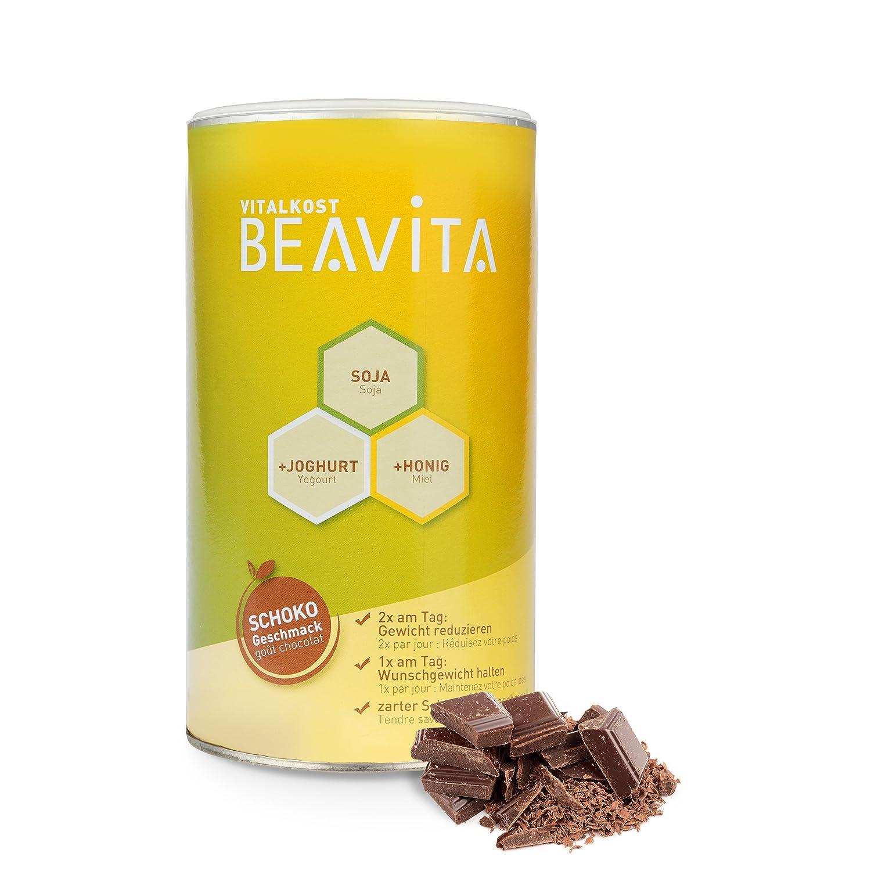BEAVITA Vitalkost sabor chocolate | 500g (9 porciones) | 214 kcal por porción | Libre de gluten y conservantes | Suplemento con proteína, ...