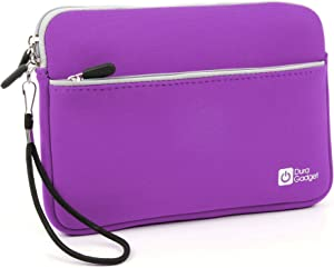 DURAGADGET Purple 8-inch Tablet Case in Neoprene with Front Storage Compartment - Compatible with The Lenovo Yoga Tab 3 8