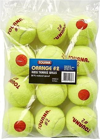 Amazon.com: Tourna Orange Dot - Pelotas de tenis de ...