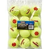 Tourna Orange Dot Low Compression Transition Tennis Balls