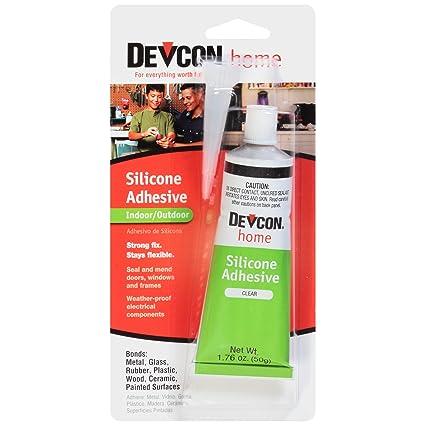 amazon com devcon 12045 premium silicone adhesive 1 76 oz