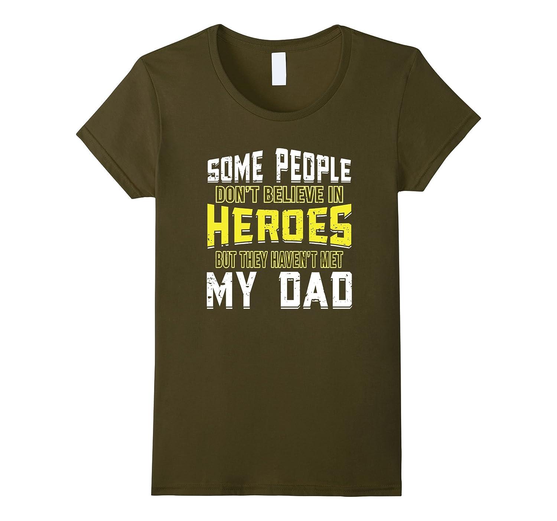 MY HERO DAD cool U.S. military T-Shirt-Teevkd