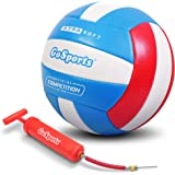 GoSports Soft Touch Recreational Volleyball | Regulation Size for Indoor or Outdoor Play | Includes Ball Pump - Choose…