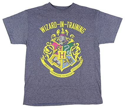 664c92558a8 Harry Potter Little Boys Wizard In Training Navy Heather T-shirt (Small