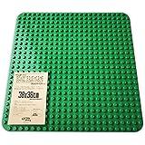 Grouportoy ブロック 基礎版 38X38cm 大きいベースプレート (緑-L)