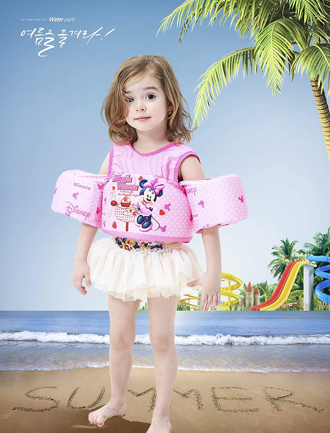 ANAN BABY Swim Vest//Toddler Life Jackets with Floaties for Kids 30-55 lbs