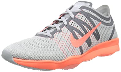 8f8ce8a07411 Nike Women s Air Zoom Fit 2 Pure Platinum Bright Mango CL Gry White
