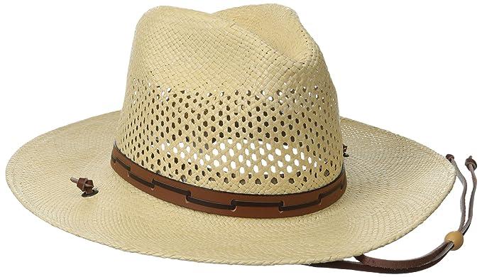 Stetson Men s Stetson Airway Vented Panama Straw Hat at Amazon Men s ... 8b6fc488aec