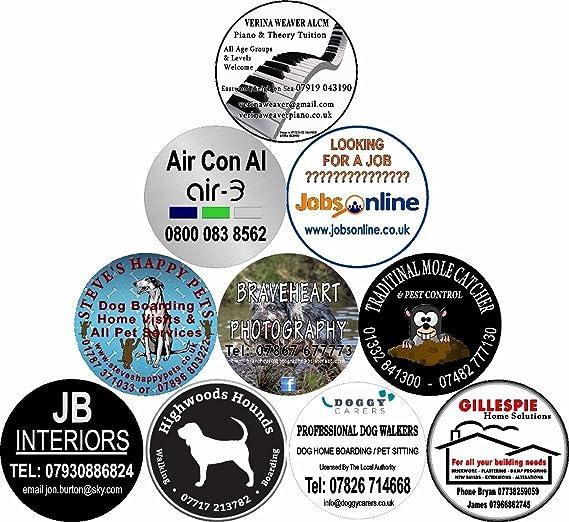 Cubierta de la rueda de repuesto de 4 x 4 Business Publicidad adhesivo Cualquier Vehículo: Amazon.es: Coche y moto