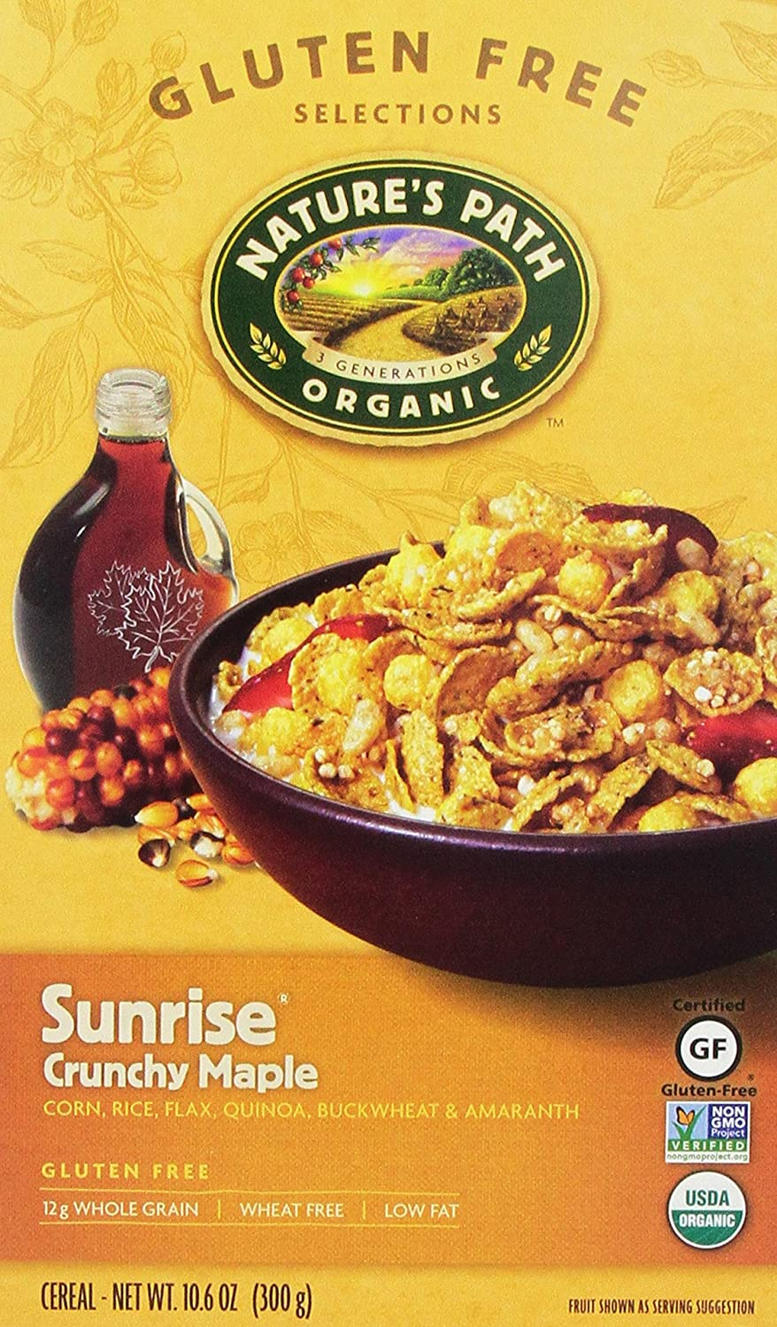 The Nature's Path Crunchy Maple Sunrise travel product recommended by Sue Procko on Pretty Progressive.