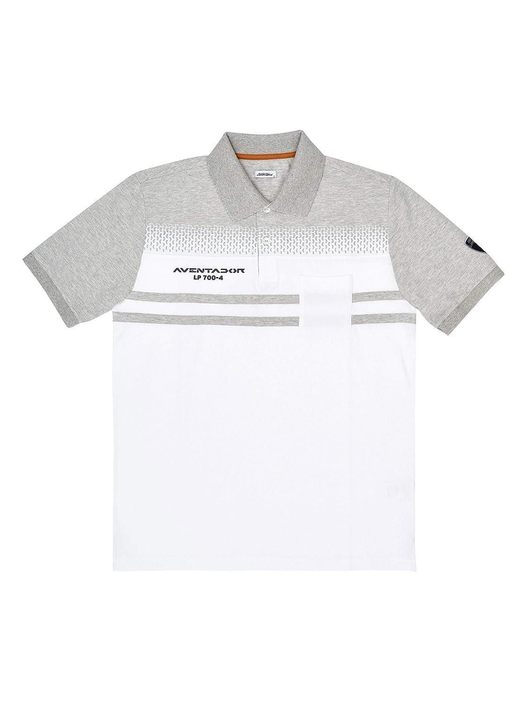 Automobili Lamborghini Hombre Aventador Polo Shirt White XXXL ...