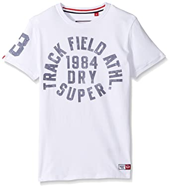 Superdry Mens Trackster SS Tee Optic