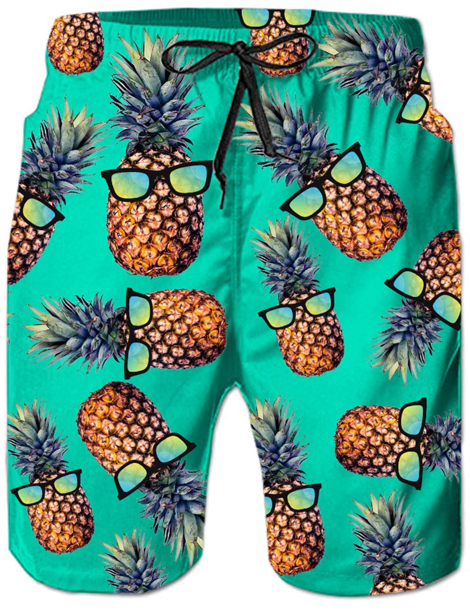 84d7422032fa Loveternal Uomo Costume da Bagno Quick Dry Pantaloncini da Spiaggia  Stampato Swim Trunks product image