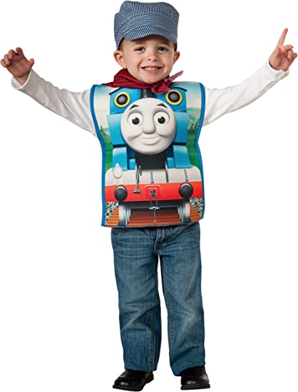 LICENSED DELUXE PERCY THOMAS TANK ENGINE CHILD TODDLER TRAIN BOOK WEEK COSTUME