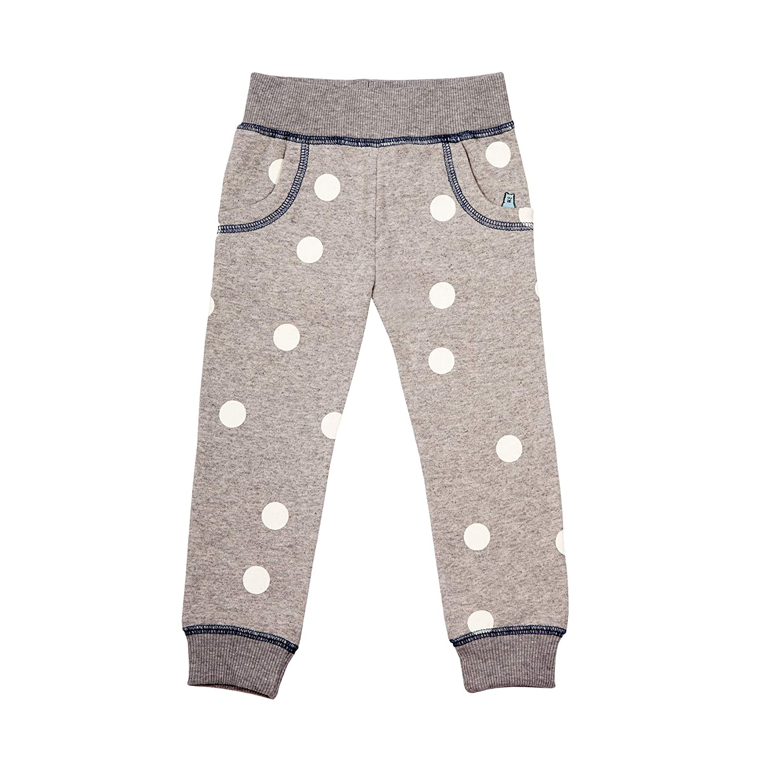 Where's that Bear? Moon Spot Jersey Joggers Grey Marl for Boys & Girls