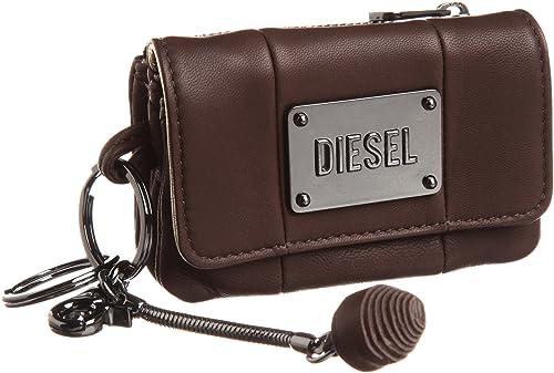 Diesel Topaz - Monedero de Cuero Mujer, Color marrón, Talla ...