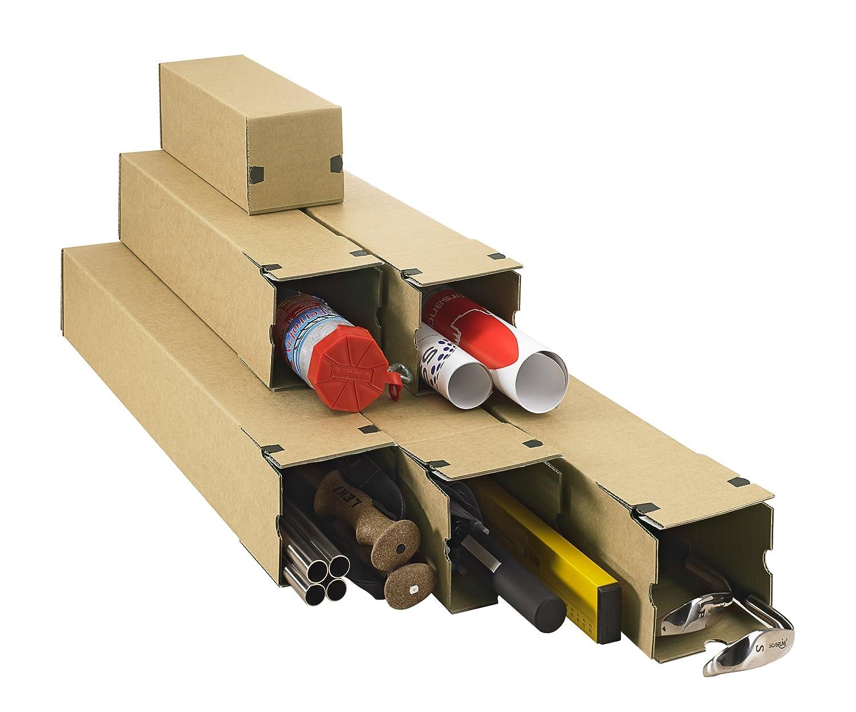 braun DIN A1+ progressPACK Universalversandh/ülse Premium PP LB10.05 aus Wellpappe 715 x 105 x 105 mm 10-er Pack