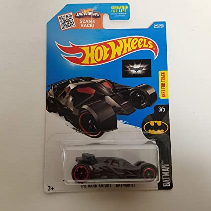 The Dark Knight Batmobile Hot Wheels