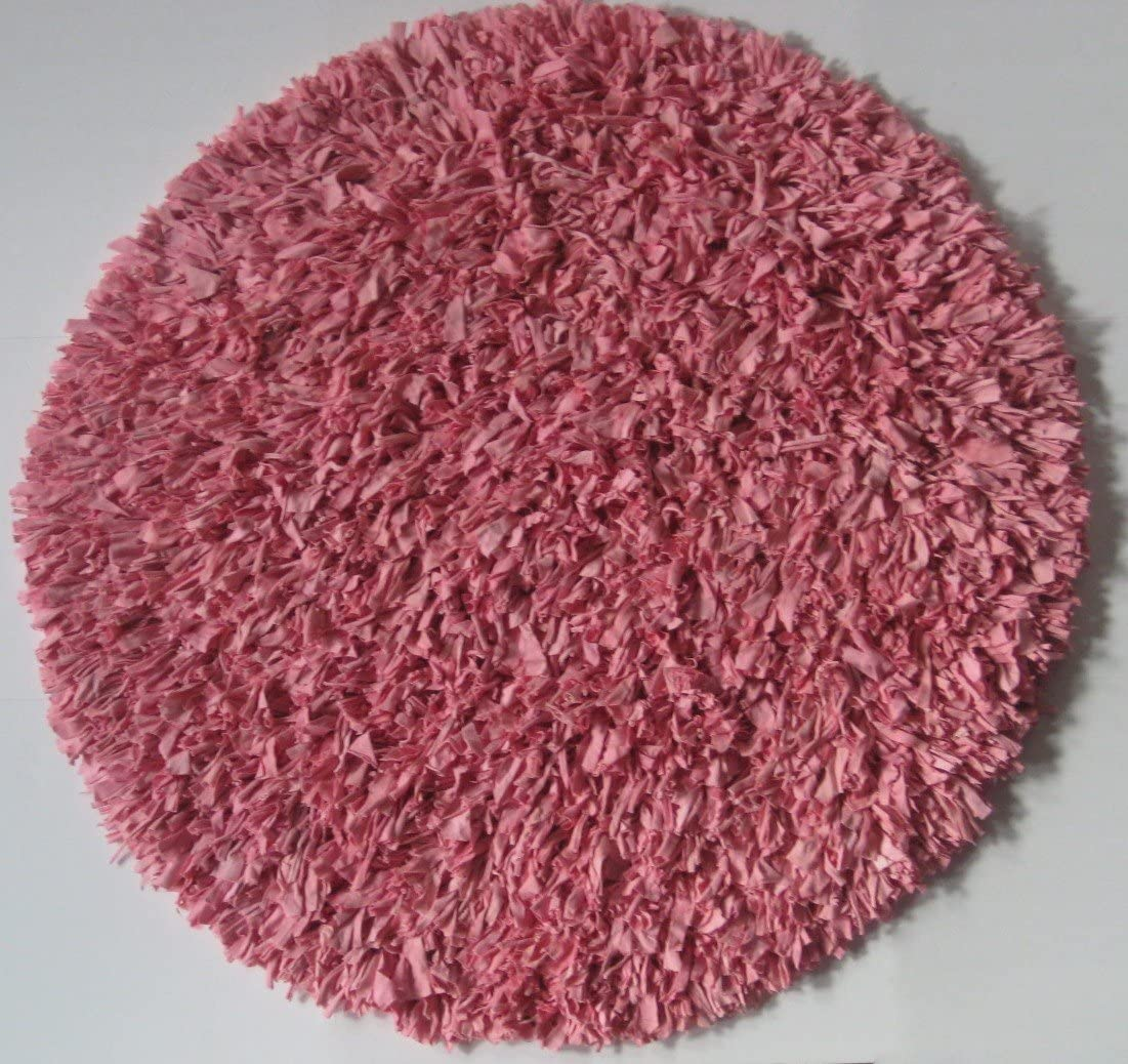 IXI Calypso Jersey Pink Rug Rug Size Round 4 9