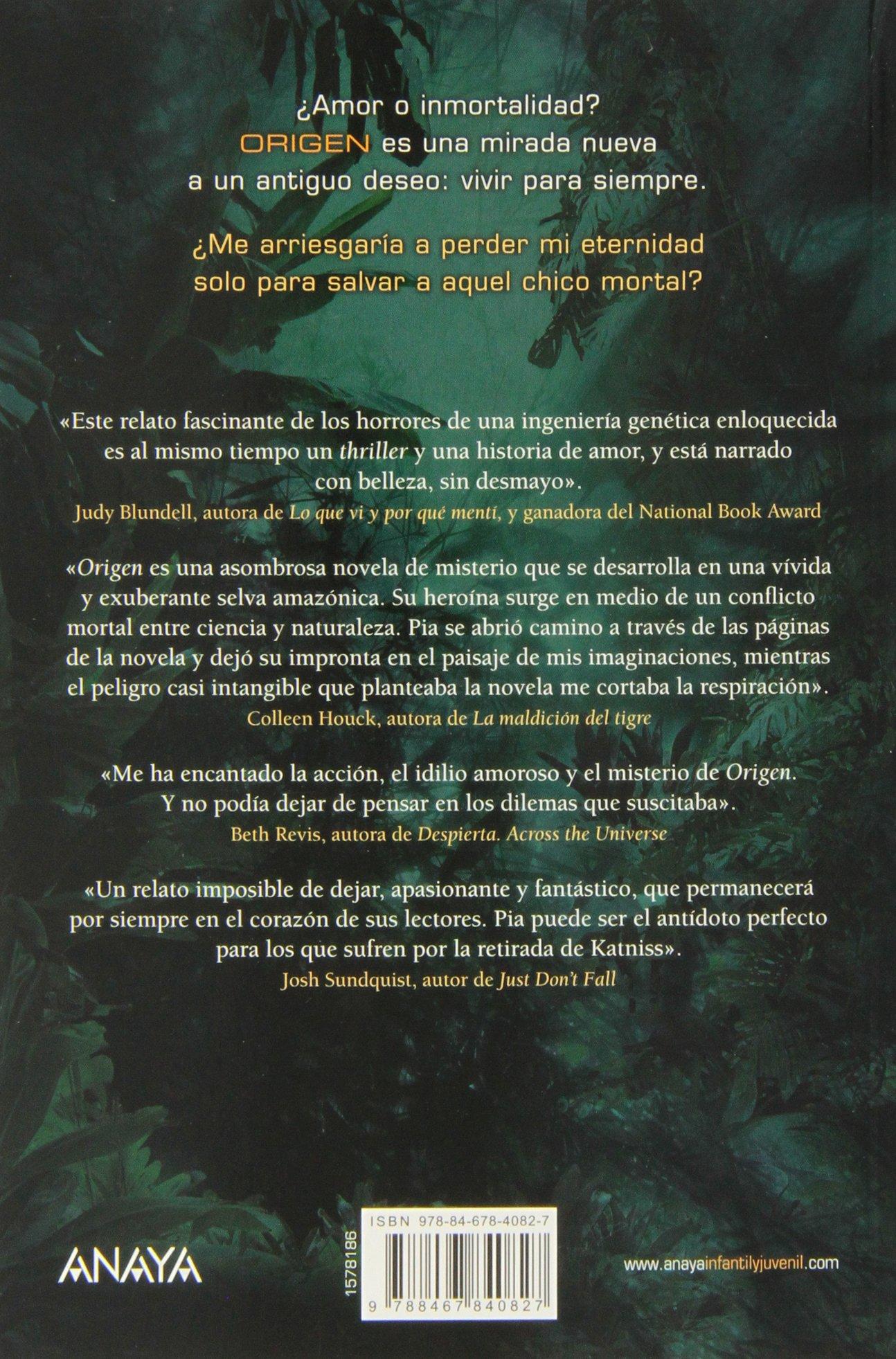 Origen Literatura Juvenil A Partir De 12 Años - Narrativa Juvenil: Amazon.es: Jessica Khoury, Adolfo Muñoz García: Libros