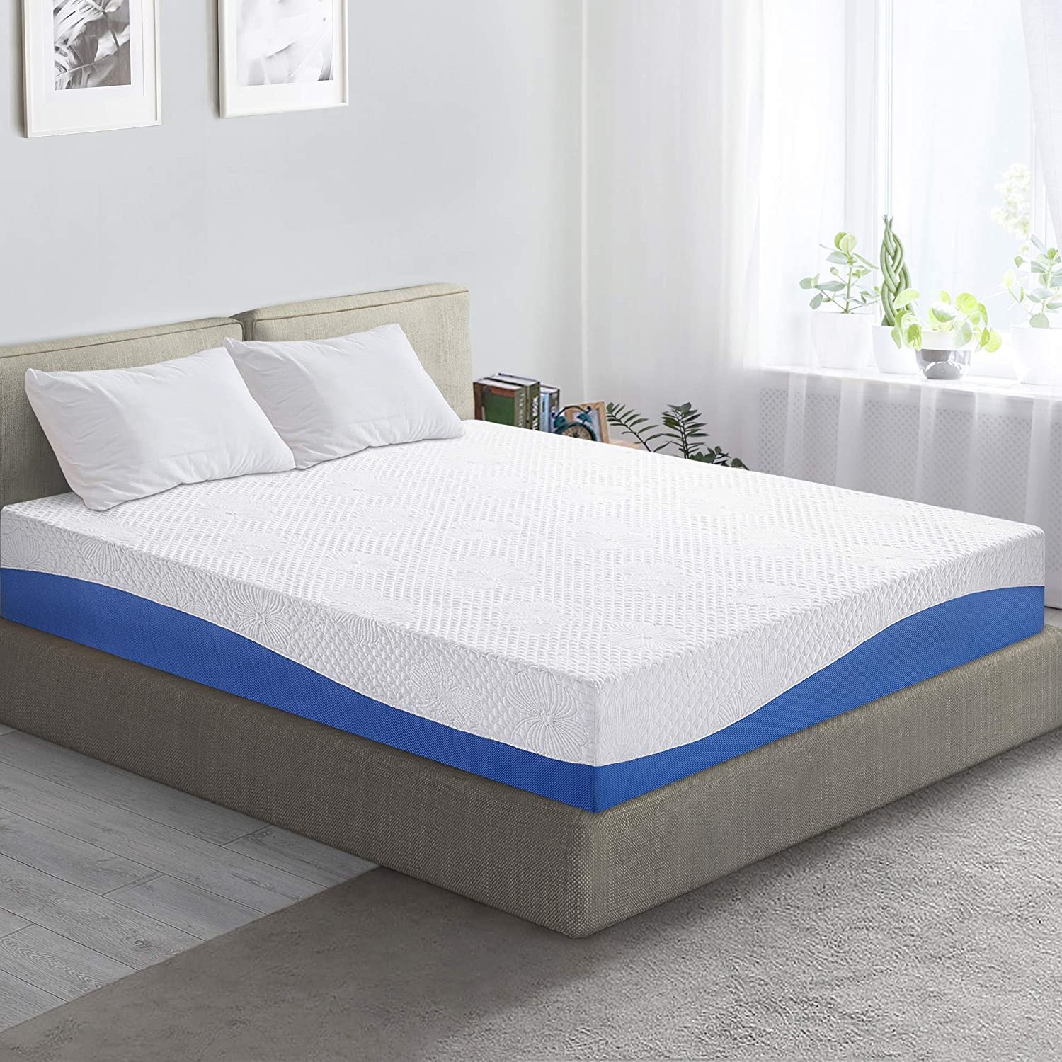 Prima Sleep Wave Gel Infused Memory Foam Mattress