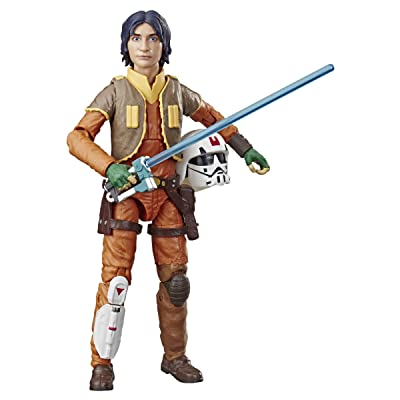 "Star Wars The Black Series Rebels 6""-Scale Ezra Bridger Figure: Toys & Games"
