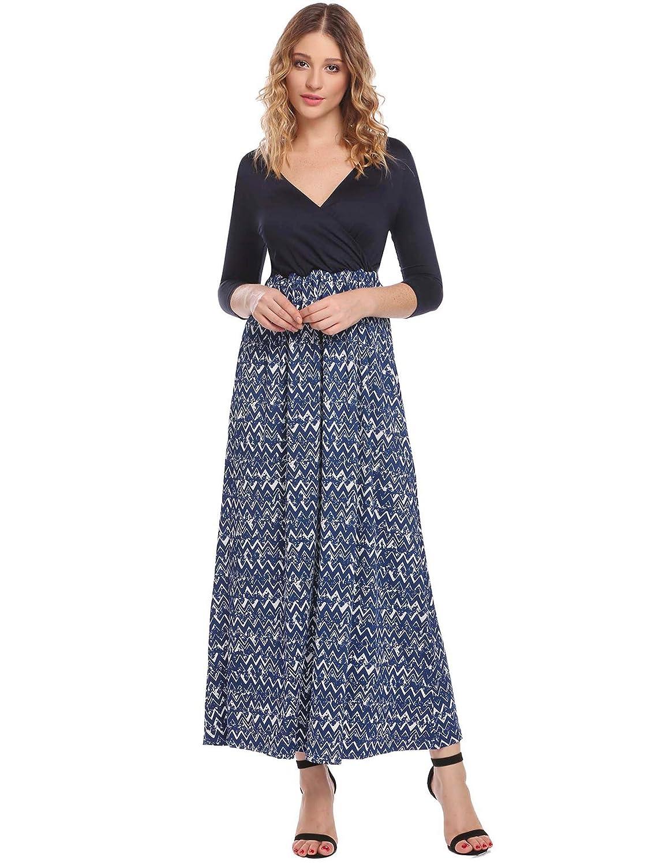 8c54d44946de6 Hotouch Women's Maternity/Nursing Pregnancy Maxi Dress Summer Beach Dress  Breastfeeding Dress at Amazon Women's Clothing store: