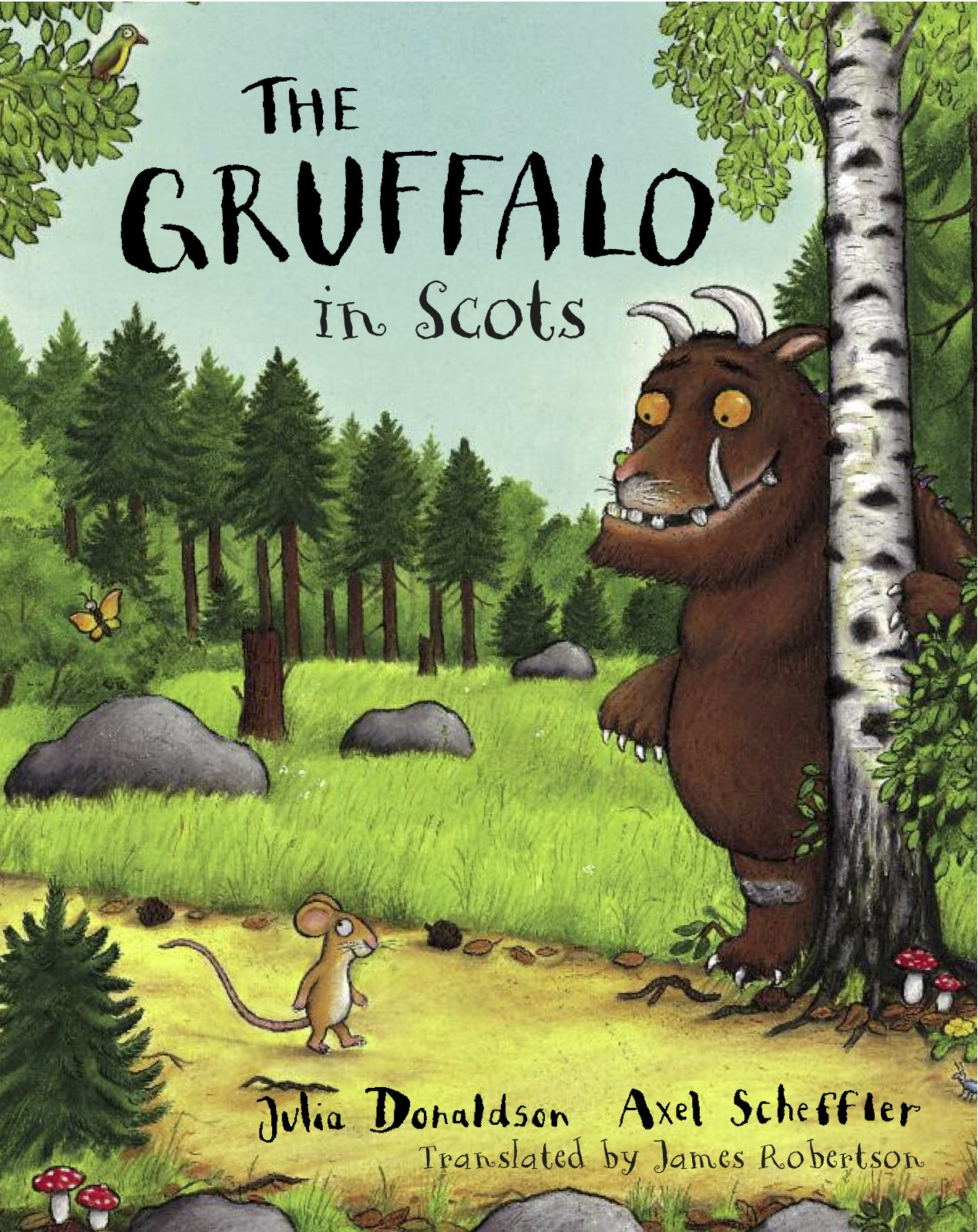 Image result for gruffalo in scots